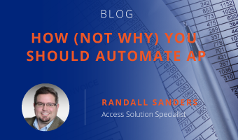 How (Not Why) You Should Automate AP