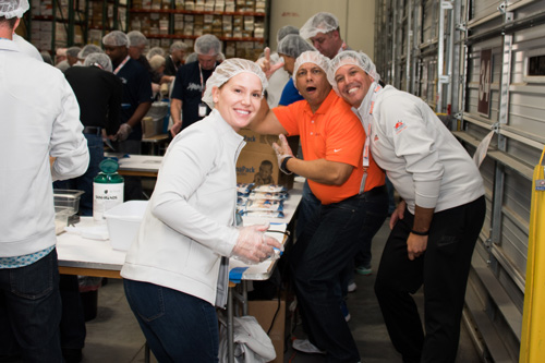 FMSC event - having a great time